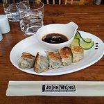 Sashimi Burger et gyosa