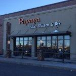 Papaya - from the parking lot