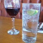 Soda water prefered than the wine