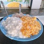 花生粟米芋頭冰