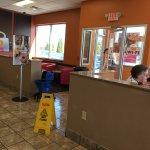 Dunkin' Donuts - inside front door