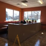 Dunkin' Donuts - dining area