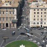 Roma dal Cielo Terrazza delle Quadrighe - What a view!