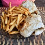 BBQ Chicken in pita
