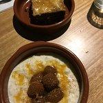 Baklava and fig semolina