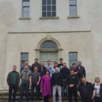 Visit by the Dingle chapter of the Irish Whiskey Society