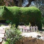 Hipopótamo y su cría.