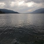 The bus tour stopped in Fort Augustus which is by the Loch Ness.