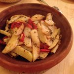 tagine de kefta de chameau aux pommes de terre et tomates