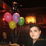 Anthony's 13th birthday.