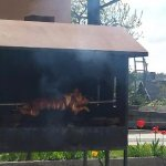 House of the Pig roast (Pig on a spit)