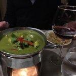 Poulet au curry vert thaï