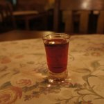 """Another """"suprise"""", a Polish cherry liqueur they introduced me to."""
