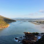View of Knysna estuary from the Heads