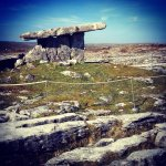 Poulnabrone Dolmen - the heart of The Burren, Co. Clare, Ireland