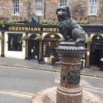 Photo of Greyfriars Bobby Memorial