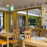 Dining area in Snoozles - Serving Breakfast Daily