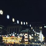 Christmas markets in George Square