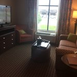 Living room in our suite.