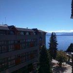Vista al lago Nahuel Huapi.