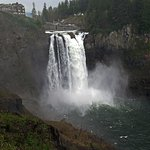 Snoqualmie Falls - from the top overview platform