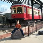 Interurban Railway Museum in Plano is a great stop for young train fans !