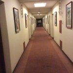 Couloir décoré