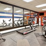 Complimentary fitness center open 24 hours