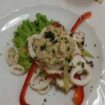 insalata tiepida di mare