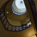 Interior Stairway at Courtauld Gallery
