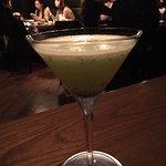 kiwi lychee martini