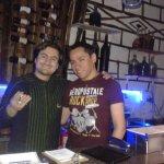 Con David, administrador del Batan Del Tayta