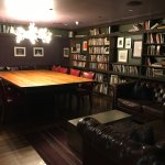 Billiards room/library