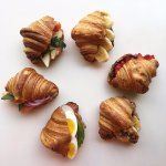 Fresh croissants every day!
