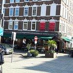Friendly Cafe Bar opposite hotel