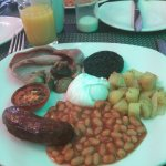 Fantastic breakfast at the inn loads of choice and cooked to your liking