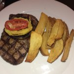 Rib-eye steak (without the sauce)