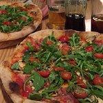 Pizza proscciuto altezza