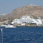 Hotel from seaside