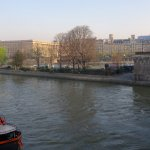 View of Square du Vert-Galant from Left Bank of Seine