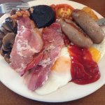 Full English breakfast, as much as you want