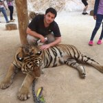 me with the tiger