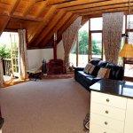 Flora's Barn Living Room.