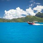 Enjoy the gorgeous lagoon