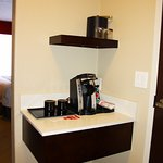 Coffee Station in Newly renovated room.