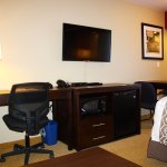 Newly renovated room features