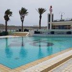 The sea water pool