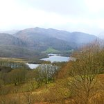 View from the top of the Estate overlooking Elterwater and Langdale