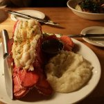 Maine Lobster and Garlic Mashed Potatoes.