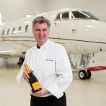 Catering private jets